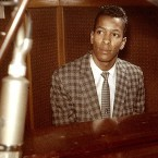 A young Allen Toussaint at his piano. c