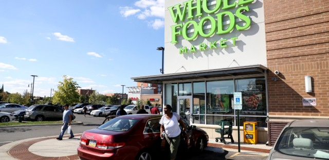 The Whole Foods in Chicago's Englewood neighborhood opened in 2016.