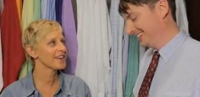 Daily Rehearsal: Seven Minutes in Heaven with Ellen (Degeneres)