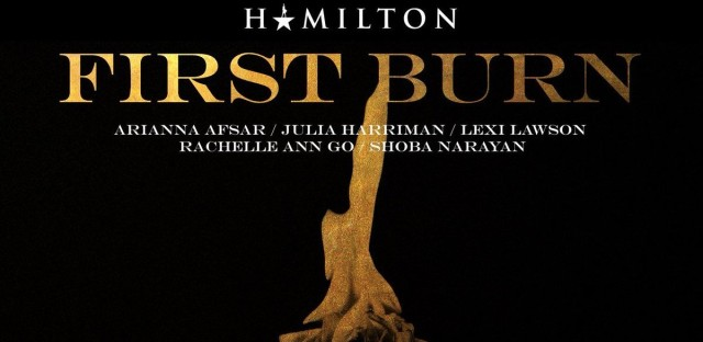 """The first draft of the Hamilton song """"Burn"""" is the fourth new song in Lin-Manuel Miranda's 'Hamildrops' series."""