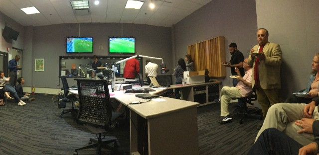Worldview throws a World Cup party in the studio right after talking Iran-Spain.