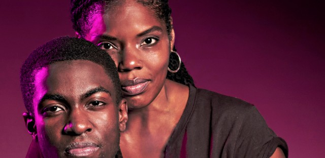 """Tyla Abercrumbie and Matthew Elam play a mother and son in Victory Gardens Theater's production of Dominique Morisseau's play """"Pipeline,"""" which examines the school-to-prison pipeline. (Courtesy of Victory Gardens Theater)"""