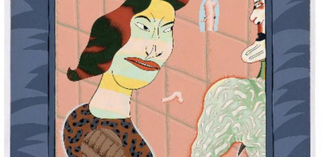 Artist Jim Nutt's characters: Shakespearean?