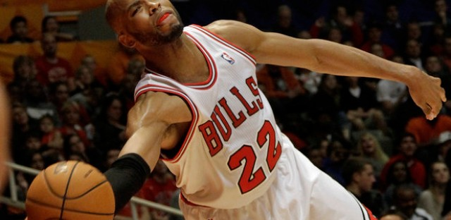 Taj Gibson is an important cog to the Bulls this pre-season.
