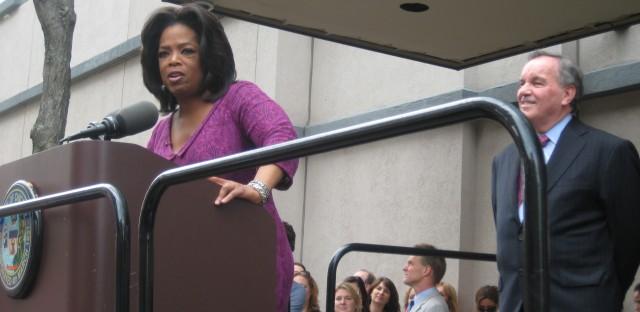 Oprah's stealth philanthropy in Chicago