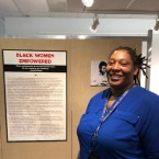 Tracy Drake is an archival specialist and the exhibit curator at Woodson Library. Drake said the branch is especially special to her because she did research from high school through graduate school there.