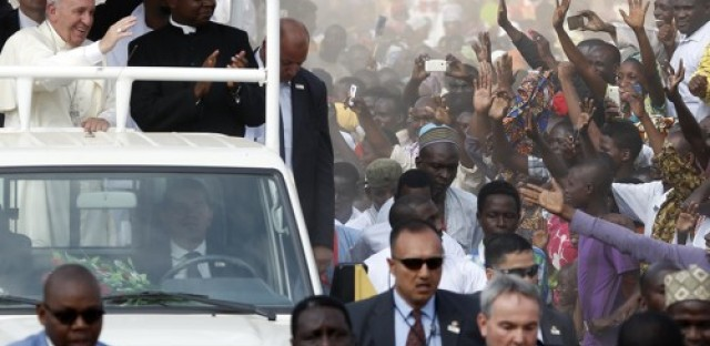 Pope Francis in the Central African Republic