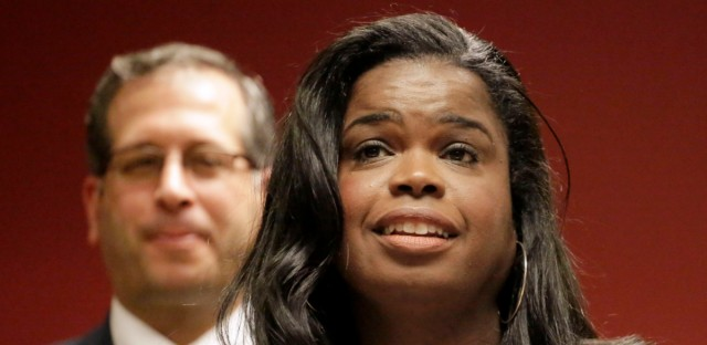 Kim Foxx, seen here in 2015, says her attorneys are drowning in cases, with nearly 8 times more than experts recommend per lawyer.
