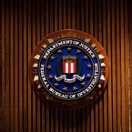 A crest of the Federal Bureau of Investigation is seen inside the J. Edgar Hoover FBI Building in Washington, D.C. in 2007. Mandel Ngan/AFP/Getty Images