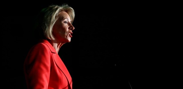 DeVos Moves To Rewrite Campus Sexual Assault Rules