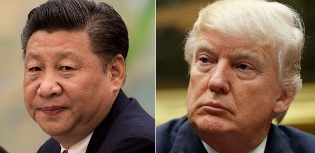 President Xi Jinping, left, probably won't give President Trump a round of golf during their first face-to-face meeting on April 6-7, but he may find it worthwhile to ensure his American counterpart does not feel like he's leaving empty-handed. Some analysts believe Xi might be willing to hand Trump a symbolic victory on trade to put a positive spin on the meeting. (AP Photo/File)