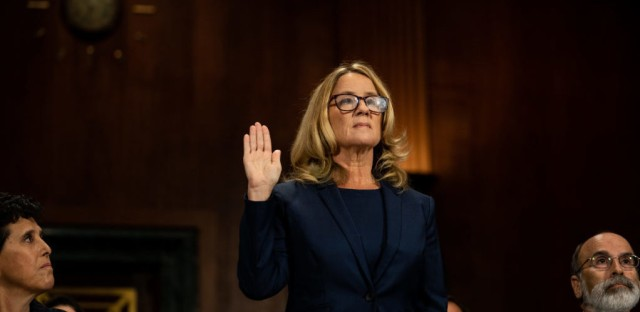 1A : Testimony Rocks Kavanaugh's Confirmation Process Image