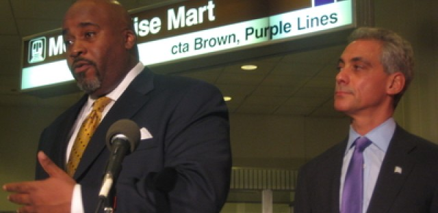 The future of the CTA - according to Mayor-elect Emanuel