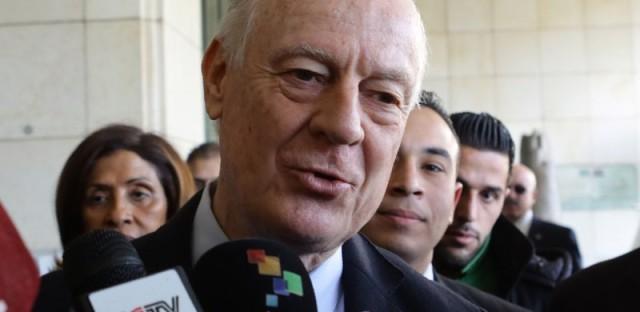 U.N. Mediator For Syria Says He'll Delay Peace Talks