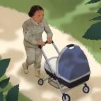 military mom woman
