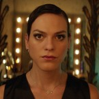 "This image released by Sony Pictures Classics shows Daniela Vega in a scene from, ""A Fantastic Woman."""