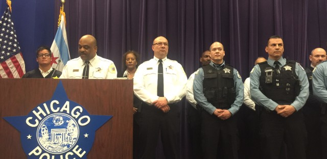 Chicago Police Supt. Eddie Johnson on Sunday, April 2, discusses the charges against a 14-year-old boy arrested in connection to the sexual assault of a teenage girl that was streamed live on Facebook. A second suspect turned himself in to police on Monday.