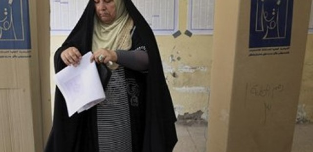 Iraq holds parliamentary elections and Libyan general launches attack