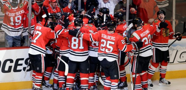 Blackhawks have finished celebrating and move on to play LA