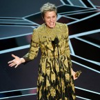 Frances McDormand won best actress for her role in Three Billboards Outside Ebbing, Missouri. As she accepted her award, she asked all other female Oscar nominees to stand up and be recognized.