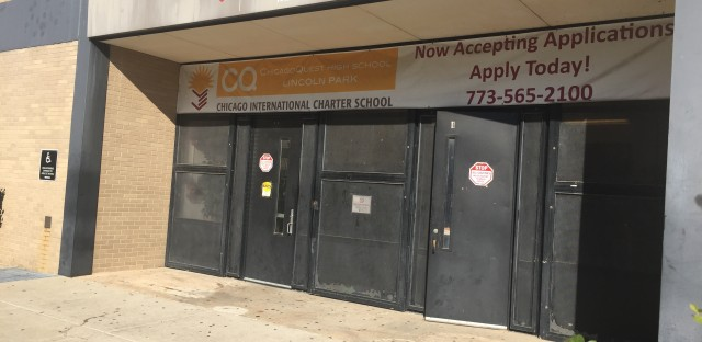 ChicagoQuest is one of four Chicago International Charter School campuses where teachers are on strike.
