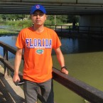 Daniel Bayhena, alligator watcher