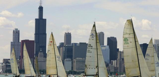 Chicago hosts 'the NASCAR of sailing'