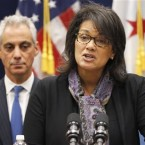 Chicago Mayor Rahm Emanuel hired Sharon Fairley last month to head the Independent Police Review Authority. Fairley says she wants to talk with Lorenzo Davis, who was terminated in July after refusing orders to change findings that officers were at fault in several cases.
