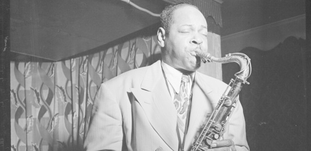 "The first volume of The Savory Collection features live recordings of Coleman Hawkins, including an extended performance of ""Body & Soul."""