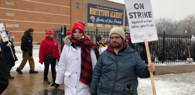 Charter school strike ending