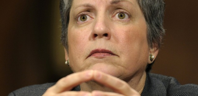 In April 25 testimony before the Senate Judiciary Committee, U.S. Homeland Security Secretary Janet Napolitano calls a Cook County policy of disregarding the detainers 'terribly misguided.'