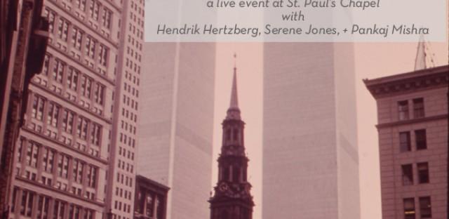 On Being : [Unedited] Hendrik Hertzberg, Serene Jones, and Pankaj Mishra with Krista Tippett Image