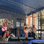 Girl K performs at West Fest Chicago on Saturday, July 6.