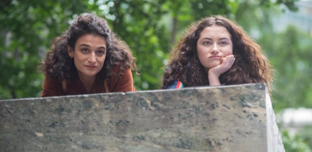 Jenny Slate and Abby Quinn in LANDLINE