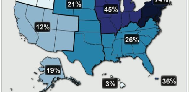 The draft report predicts more extreme precipitation events.