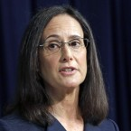 Illinois Attorney General Lisa Madigan speaks during a news conference in Chicago on Aug. 21, 2014.