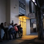 Lines for citizenship and other immigration services have been forming as early as 6 a.m. outside the office of the Coalition for Humane Immigrant Rights of Los Angeles.