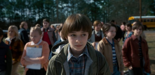 Will Byers (Noah Schnapp) returns in the second season of Stranger Things.