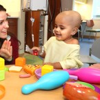 Child Life Specialist Sara Stewart works in Oncology at Ann and Robert Lurie Children's Hospital. (Courtesy of Lurie Children's)