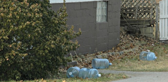 Some Pines residents have been drinking and cooking with bottled water for almost ten years.