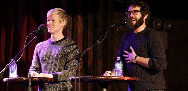 Ask Me Another : Josh Groban And Lucas Steele: Double Your Pleasure Image