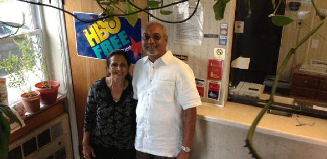 Manu Patel and his wife own the Apache Motel at 5535 N. Lincoln Ave. He says he runs the place family-style.