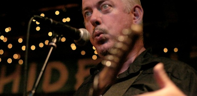 If Jon Langford hadn't been backstage at the Hideout, I'd have been screwed