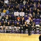Grad Student Protest at Basketball Game