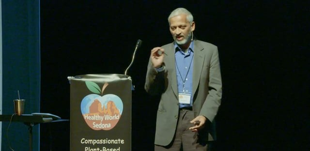 Sailesh Rao, author of 'Carbon Yoga: The Vegan Metamorphosis'