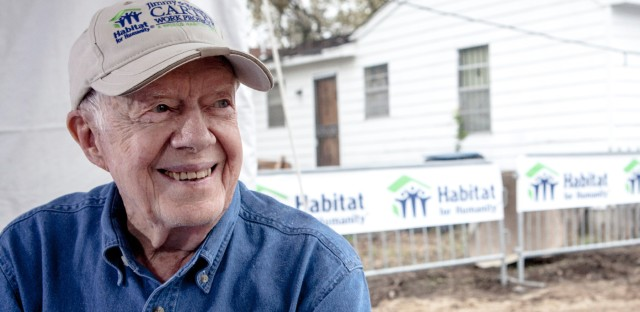 1A : Jimmy Carter: A Former President, A Person Of Faith  Image