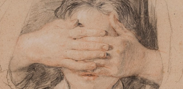 Works like this drawing by Sir David Wilkie are light sensitive and cannot be displayed year-round.