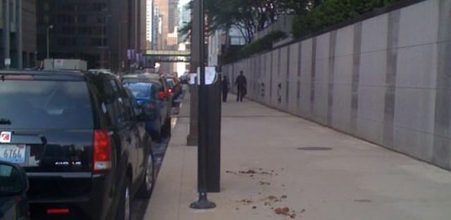 Is this a metaphor for what Rahm thinks of the parking meter deal?