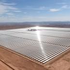 Morocco Unveils Massive Solar Power Plant in the Sahara