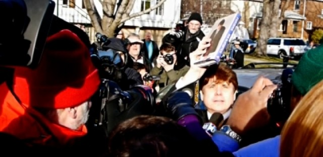 CityRoom video: Staking out Blagojevich's house